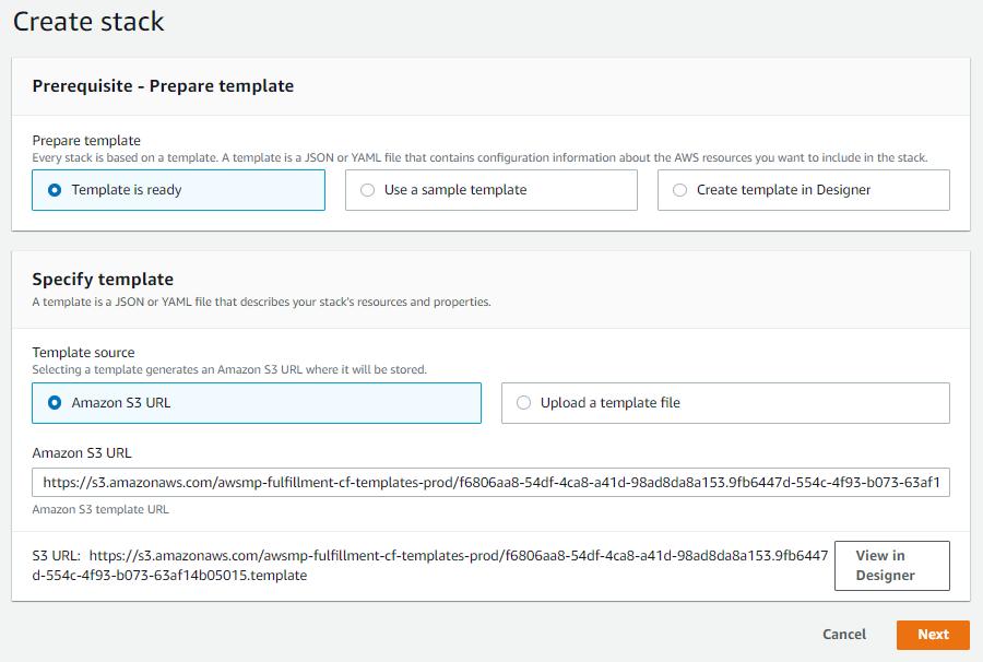 Sandbox Setup with AWS CloudFormation